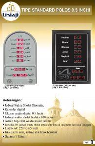 jual jam digital masjid di harapan jaya