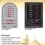 jual jam digital masjid di jakamulya