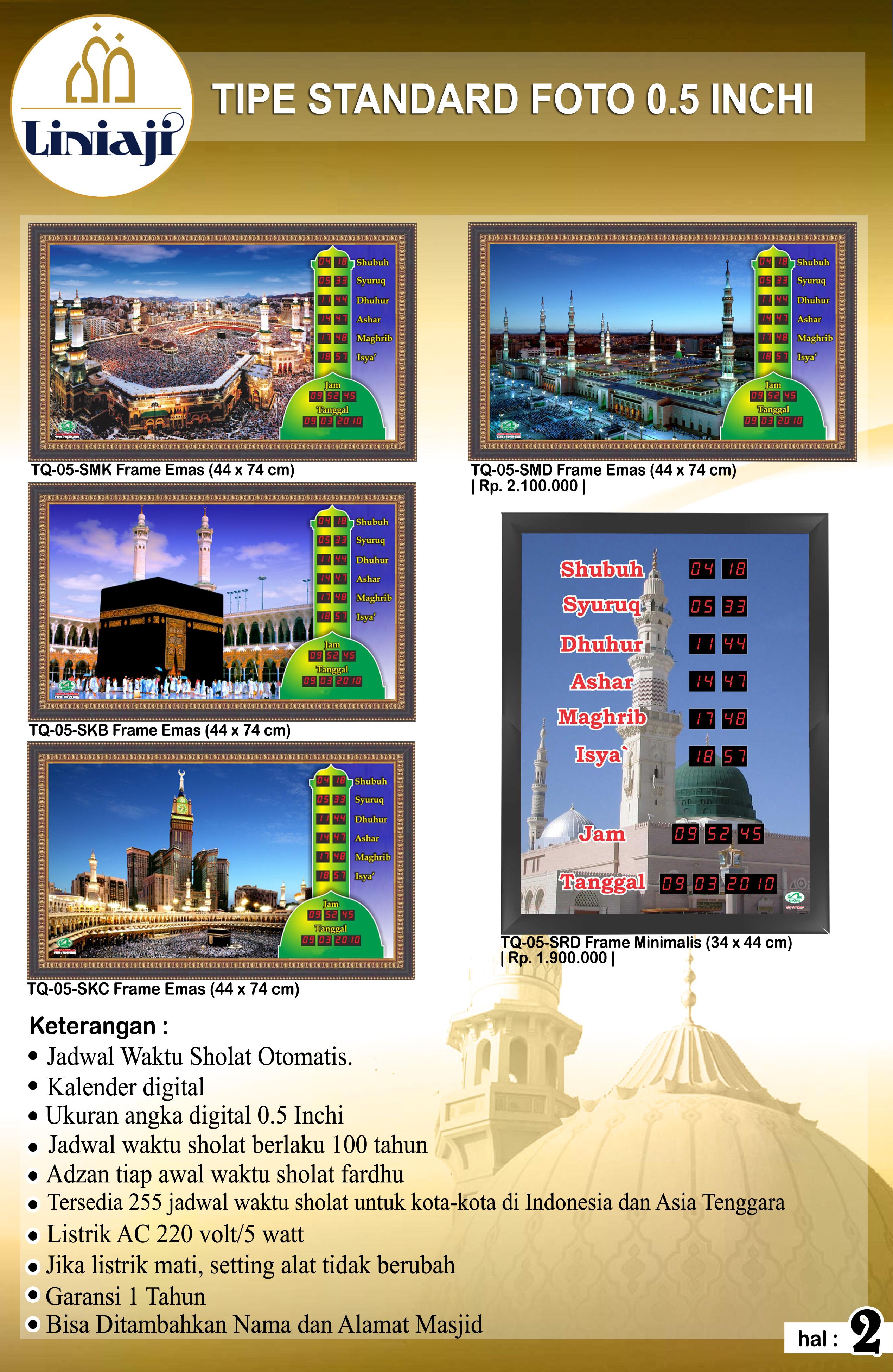 Jual Jam Digital Masjid Di Pekayon Jaya - JAM LINIAJI  0edcdb98fc