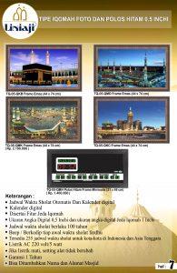 Jual Jam Digital Masjid Di Bojong Menteng