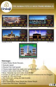 jual jam digital masjid di harapan baru