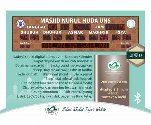 Beli Jam Digital Masjid Di Harapan Baru